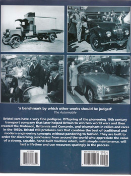 Bristol Cars A Very British Story - back cover