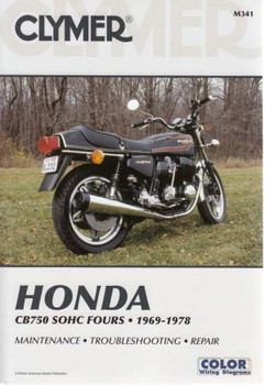 Honda CB750K, CB750A, CB750F SOHC Fours 1969 - 1978 Workshop Manual