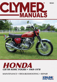 Honda CB750 Single Overhead Cam Motorcycle, 1969-1978 Service Repair Manual
