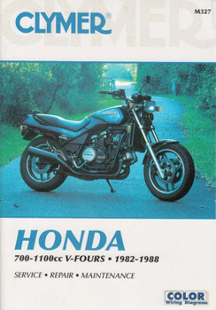 Honda 700 - 1100cc V-Fours 1982 - 1988 Workshop Manual