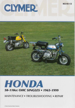 Honda 50 - 110cc OHC Singles 1965 - 1999 Workshop Manual
