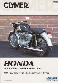 Honda CB450, CL450, CB500T - 450 & 500cc Twins 1965 - 1976 Workshop Manual