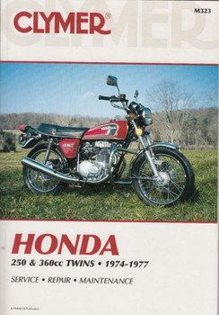Honda 250 & 360cc Twins 1974 - 1977 Workshop Manual