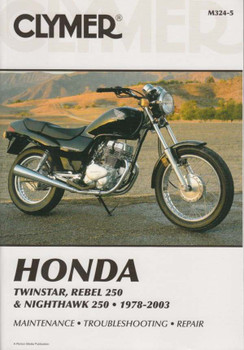 Honda Twinstar, Rebel 250 & Nighthawk 250 1978 - 2003 Workshop Manual