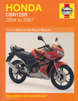 Honda CBR125R 2004 - 2007 Workshop Manual