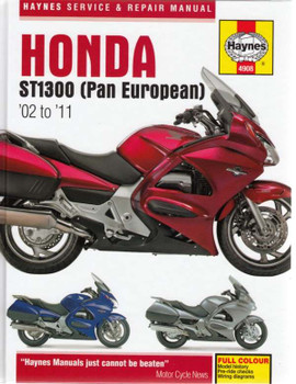 Honda ST1300 Pan European 2002 - 2011 Workshop Manual