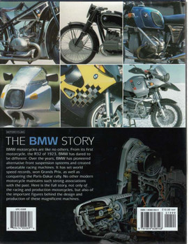 The BMW Story Back Cover