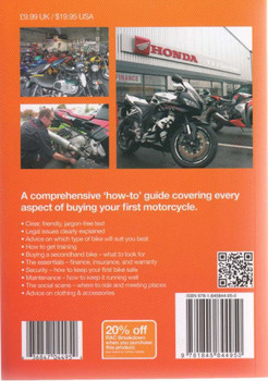 Motorcycles A Ffirst-time Buyer's Guide Back Cover
