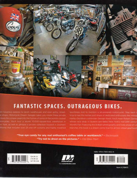 Motorcycle Dream Garages Back Cover
