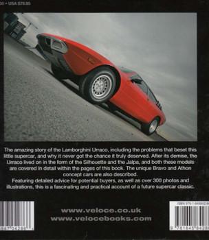 The Book Of The Lamborghini Urraco Back Cover