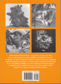 Classic Motorcycle Race Engines Back Cover