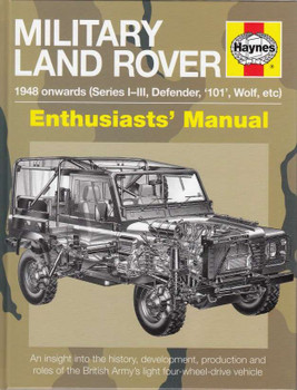 Military Land Rover 1948 onwards