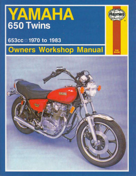 Yamaha 650 Twins 653cc 1970 - 1983 Workshop Manual