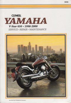 Yamaha V-Star 650 1998 - 2011 Workshop Manual