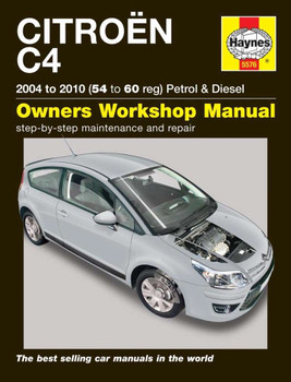 Citroen C4 Petrol & Diesel 2004 - 2010 Workshop Manual