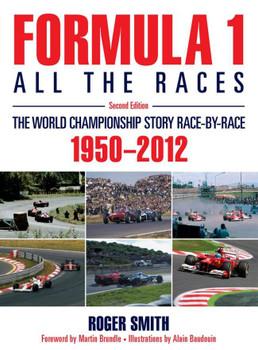 Formula 1: All the Races (2nd Edition) (hardback)