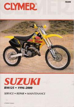 Suzuki RM125 1996 - 2000 Workshop Manual