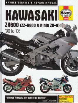 Kawasaki Ninja Zx 6 Motorcycle 1990 2004 Service Repair Manual
