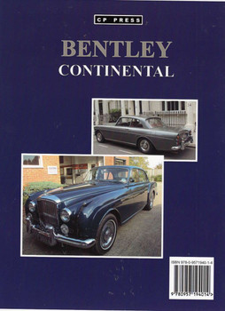 Bentley Continental back cover