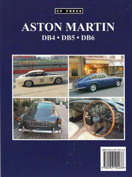 Aston Martin DB4, DB5, DB6 back cover