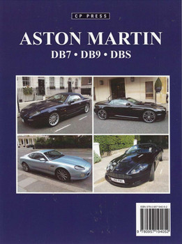Aston Martin DB7, DB9, DBS back cover