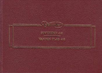 Daimler Sovereign Series III Saloon 4.2 Vanden Plas 4.2 Handbook