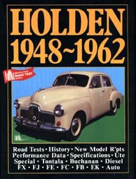 Holden 1948 - 1962 Brooklands Road Test Book