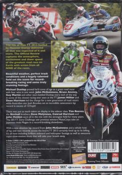 TT 2013 Review NTSC DVD back cover
