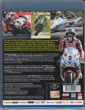 TT 2013 Official Review Blu-Ray back cover