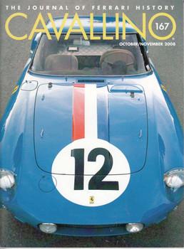 Cavallino The Enthusiast's Magazine of Ferrari Number 167 Oct/Nov 2008