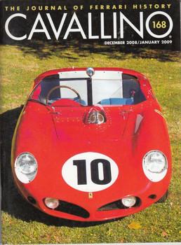 Cavallino The Enthusiast's Magazine of Ferrari Number 167 Dec 2008/Jan 2009