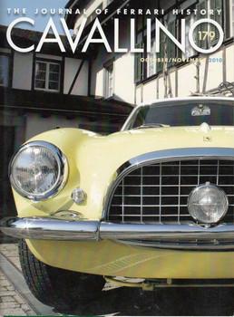 Cavallino The Enthusiast's Magazine of Ferrari Number 179 Oct/Nov 2010