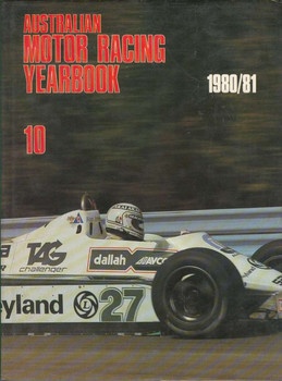Australian Motor Racing Yearbook Number 10 1980 / 1981