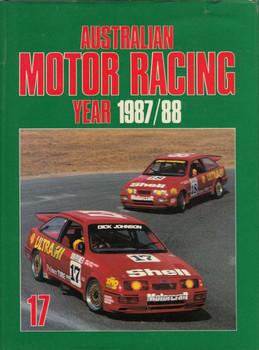 Australian Motor Racing Year Number 17 1987 / 1988