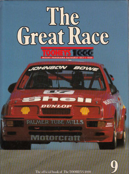 The Great Race Official Book Number 9 1989 / 1990