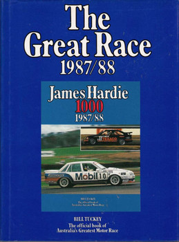 The Great Race Official Book Number 7 1987 / 1988, James Hardie 1000