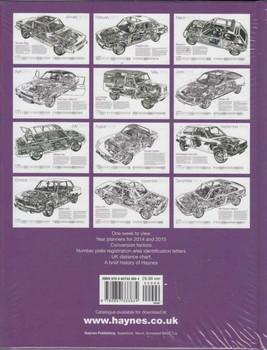 Haynes Automotive Desk Diary January to December 2014 back