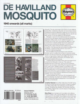 De Havilland Mosquito Manual Back Cover