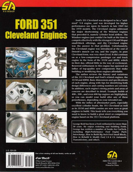 Ford 351 Cleveland Engines Back Cover