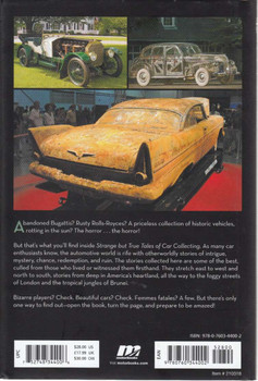 Strange But True Tales of Car Collecting Back Cover