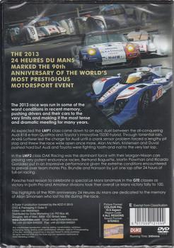 Le Mans 2013 DVD Back