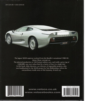 Jaguar XJ220 Back