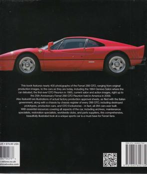 The Book of the Ferrari 288 GTO Back Cover