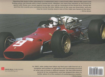 1967 Chris Amon, Scuderia Ferrari and a Year of Living Dangerously Back Cover