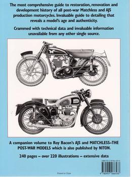 Matchless & AJS Restoration Back Cover