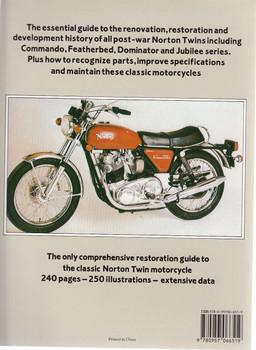 Norton Twin Restoration Back Cover