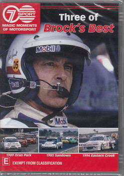 Three of Brock's Best DVD