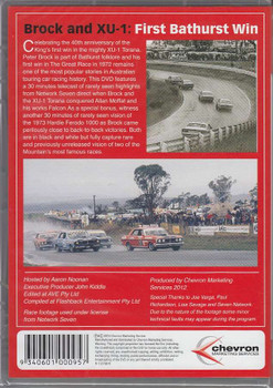 Magic Moments of Motorsport - Brock and XU-1 - First Bathurst Win DVD