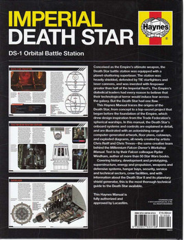 Imperial Death Star Back Cover