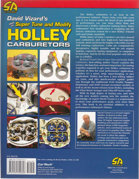 How to Super Tune and Modify Holley Carburetors Back